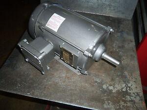 Baldor explosion proof electric motor m7014t 5 1 hp 575 for Explosion proof dc motor