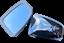 ukscooters-VESPA-LAMBRETTA-HIGHLY-CHROMED-STADIUM-MIRROR-HEAD-X-2-NEW-SQUARE miniatura 1