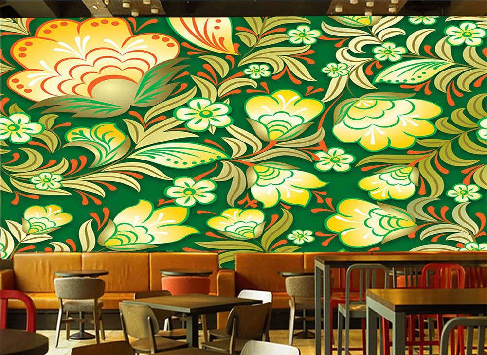 Dress Of The Flower 3D Full Wall Mural Photo Wallpaper Printing Home Kids Decor