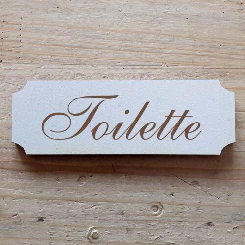 Türschild  « Toilette » Schild 15 x 5 cm Schild