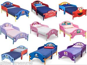 Image Is Loading KIDS BOYS GIRLS TODDLER BED MULTIPLE DISNEY CHARACTERS