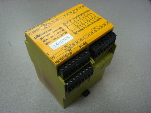 USED Pilz PNOZ X9P Safety Relay