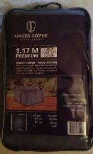 UNDER COVER PATIO ARMOR 4SEAT CUBE SET COVER MEDIUM 117M - <span itemprop=availableAtOrFrom>SUTTON COLDFIELD, West Midlands, United Kingdom</span> - UNDER COVER PATIO ARMOR 4SEAT CUBE SET COVER MEDIUM 117M - SUTTON COLDFIELD, West Midlands, United Kingdom