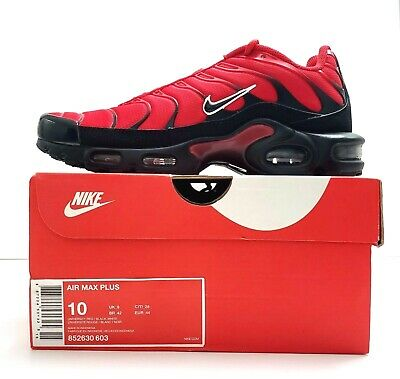 Comienzo por no mencionar adolescentes  Nike Air Max Plus Running Shoes for Men, Size 9.5M - Red for sale online |  eBay
