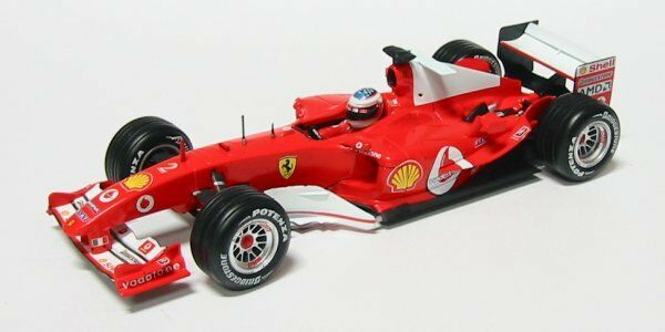 Ferrari 2004 r. barrichello formel - 1 - 18 - modell 04464 hot wheels