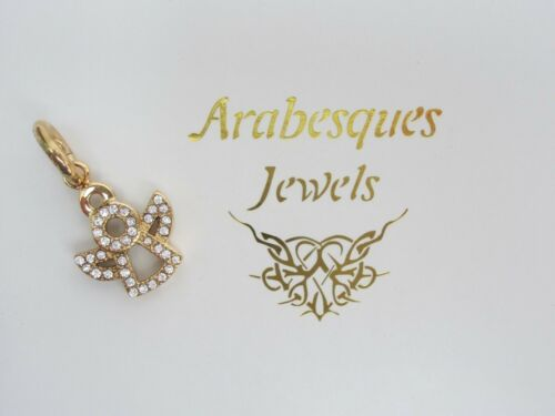 GENUINE ARABESQUE JEWELS CRYSTAL ANGEL CHARM FOR JOINED STACKING BANGLE//BRACELET