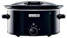 Crock-Pot CSC031 Slow Cooker with Hinged Lid 5.7 L NEW
