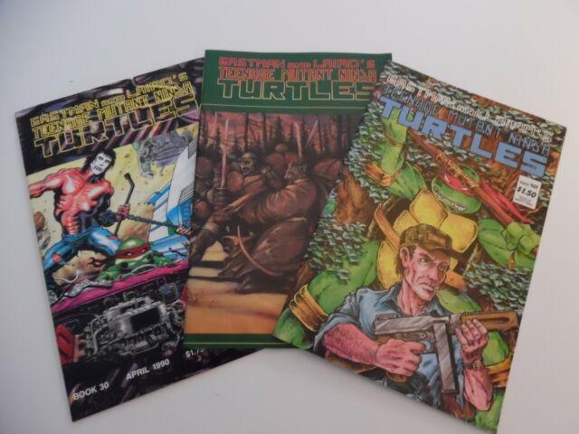 Mirage Studios Teenage Mutant Ninja Turtles  31 35 37-3 comic lot