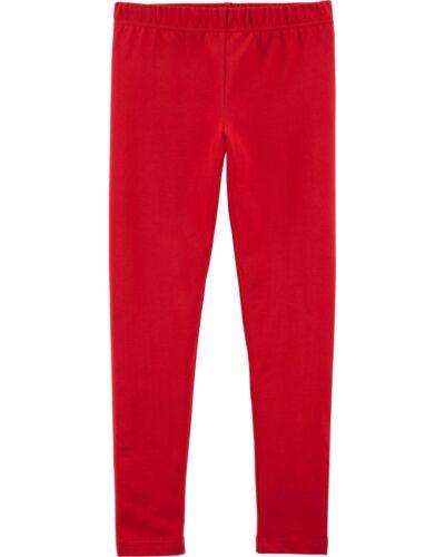 NWT Carter/'s Red Leggings Girls Many sizes