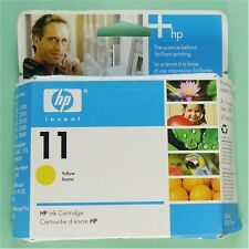NEW GENUINE OEM HP 11 YELLOW Ink Cartridge C4838A/C4838AN *EXPIRED!*++FREE SHIP!
