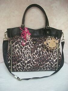 betsey johnson betsey baby roll out bag tote