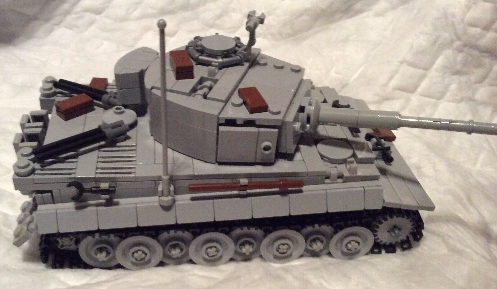 Ss LEGO - Panzerkampfwagen VI - 'TIGER' (1942-1944) - Scala 1 32