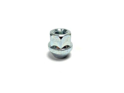 aprire Dadi Cerchi in lega FORD FOCUS sede conica 20x M12 x 1.5 19mm Hex Silver