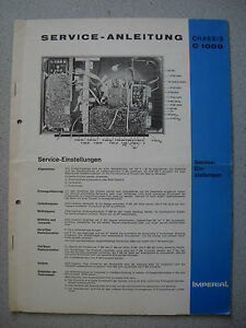 IMPERIAL-Color-TV-Chassis-C-1000-Service-Manual