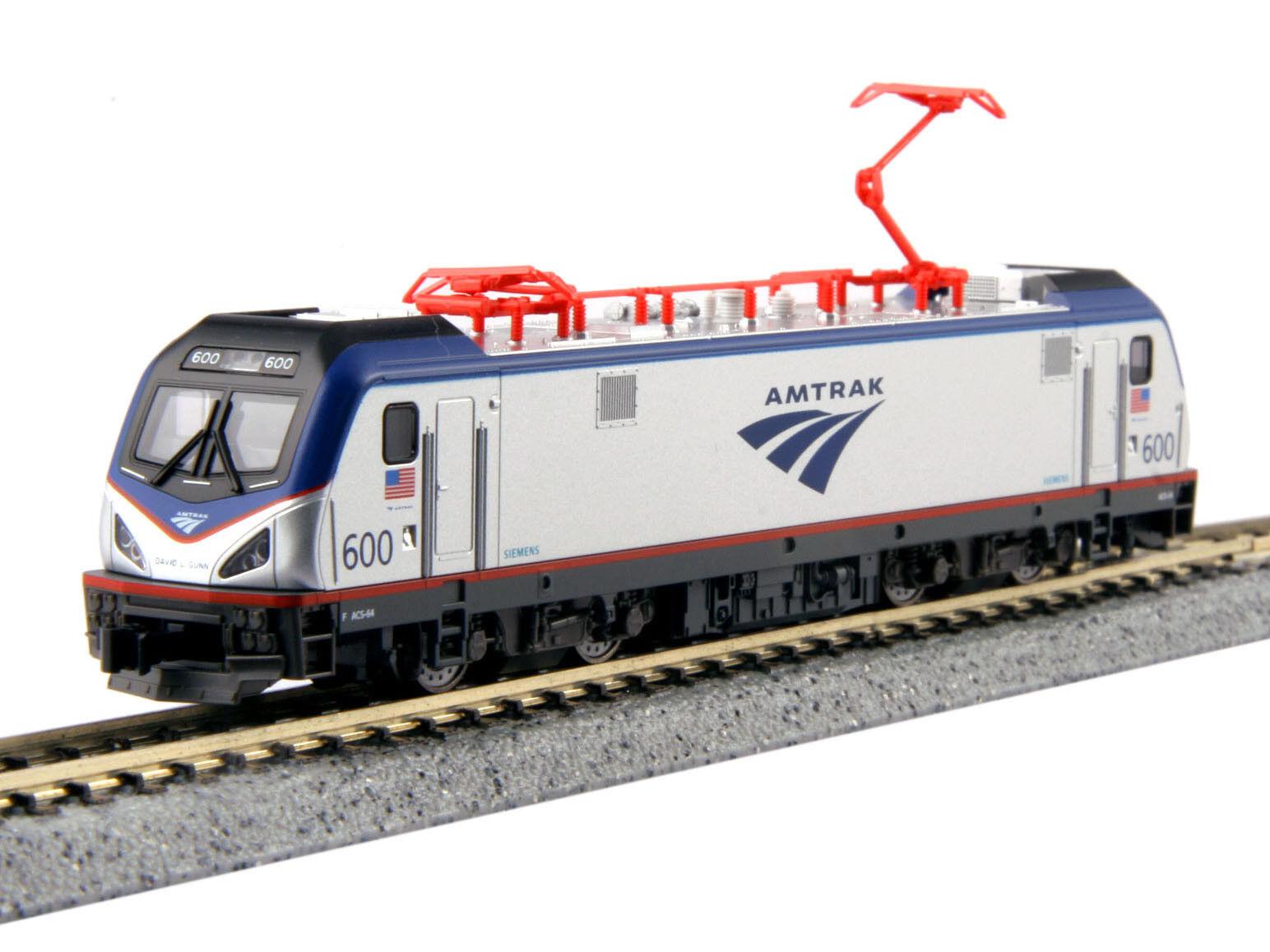 Kato 137-3001 - Elektrolok Amtrak ACS-64 600 David L. Gunn Ep.VI - Spur N - NEU
