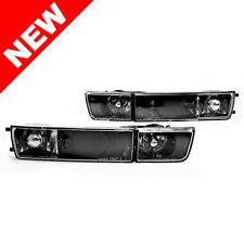 DEPO 93-99 VW Golf/Jetta MK3 E-Code Black Glass Fog Lights / Turn Signals