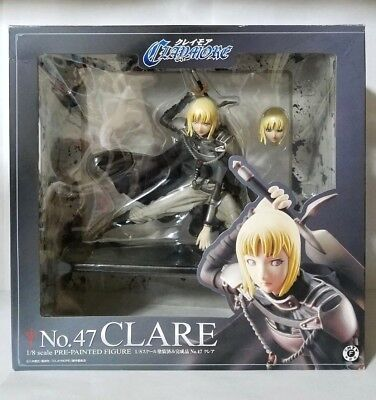 Excellent Model Claymore NO.47 Clare Figure Cute Girl Anime PVC 1//8 MegaHouse
