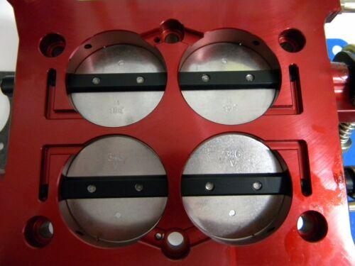 "Billet Blow-Thru Base Plate Assembly 1 3//4/"" 850-1000 CFM QFT 12-857 Holley-QFT"