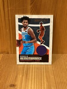 2019-20-Panini-NBA-Hoops-Marvin-Bagley-III-Rookie-Remembrance-Jersey-Relic-Kings