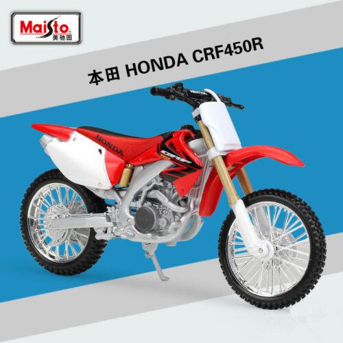 Maisto 1:12 Honda CRF450R Motorcycle Bike Model Toy New in Box