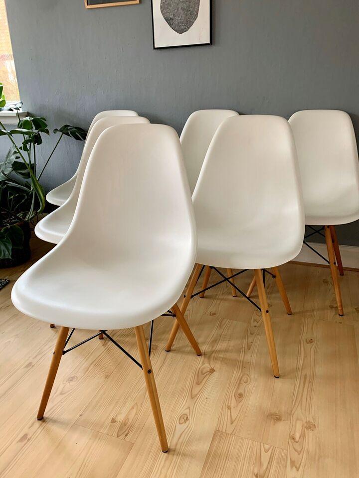 Spisebordsstol, Eames DSW Vitra – dba.dk – Køb og Salg af