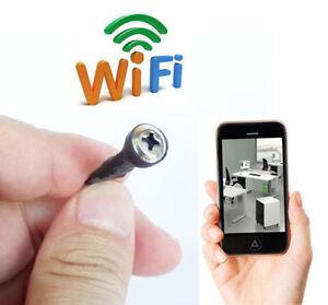 network wireless wifi tiny ip hd mini diy spy screw hidden
