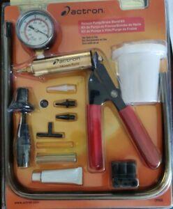 Actron CP7835 Vacuum Pump//Brake Bleed Kit