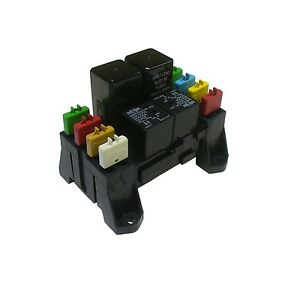 atc ato blade fuse and mini relay block panel holder 12v ... small fuse box wiring fuse box wiring diagram for 1998 catera #7
