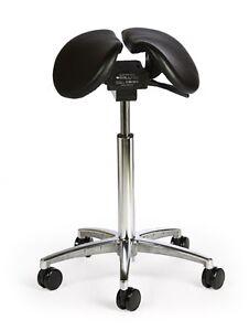 Image is loading Ergonomic-Divided-Leather-Salli-Saddle-Stool-Tilt-Model  sc 1 st  eBay & Ergonomic Divided Leather Salli Saddle Stool Tilt Model | eBay islam-shia.org