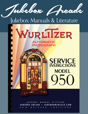 Wurlitzer Model 950 Service Instructions,Amplifier Schematic /& 7 Page Brochure