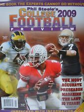 Phil Steele's 2009 College Football Preview Notre Dame -Ohio State -Michigan
