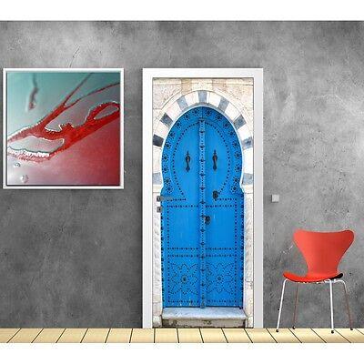 Sticker porte orientale trompe l/'oeil P103