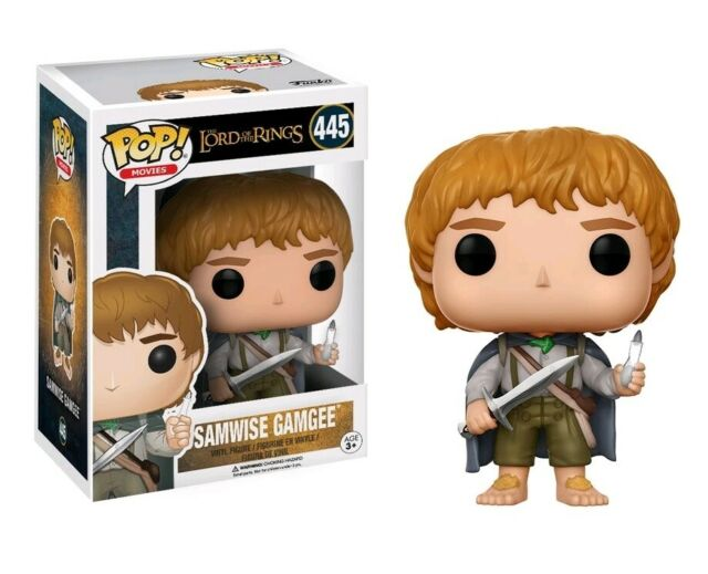 Lord of the Rings Samwise Gamgee Glow in the Dark Pop! Vinyl Figure #445