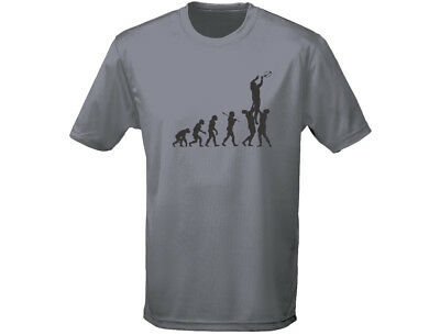 GemäßIgt Rugby Evo 6 Evolution Funny Mens T-shirt (12 Colours)