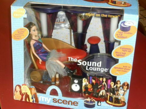 Barbie MyScene Night on the Town Nolee & the Sound Lounge