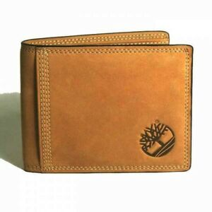 Timberland-Sleeker-Leather-Mens-Nubuck-Coin-Pocket-Wallet-New-in-Box