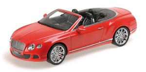 1:18 Bentley Continental Gt Speed Convertible 2013 1/18 • Minichamps 107139330