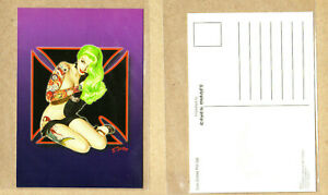 IRON-CROSS-PIN-UP-POSTCARDS-PACK-OF-2-COLLECTOR-039-S-Licensed-New
