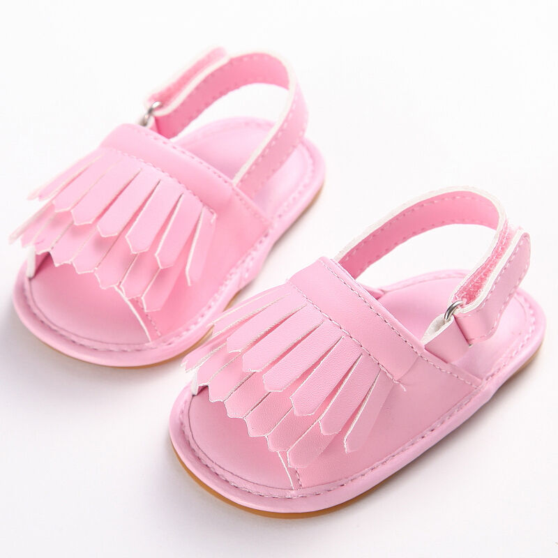 Buy HONGTEYA Baby Moccasins with Rubber Sole&Soft Sole - Flower Print PU Leather Tassel Bow Girls Ballet Dress Shoes for Toddler and other Oxford & Loafer at vanduload.tk Our wide selection is eligible for free shipping and free returns/5(31).