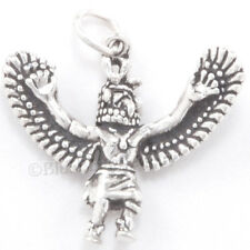 3D EAGLE DANCER Kachina southwest Indian Charm Pendant 925 STERLING SILVER
