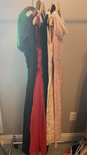 Lot Of 6 1950's 1960's Cocktail Dresses