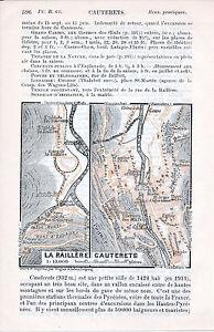 Cauterets + La Raillère 1912 pt plan ville orig- carte + guide (10 p.) Vignemale razDpih6-09093049-583047781