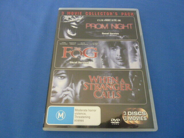 Prom Night / The Fog / When A Stranger Calls - DVD - Region 4