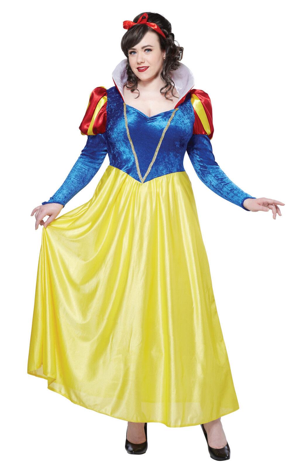 Classic Snow White Plus Size Adult Costume | eBay  Original Snow White Costume