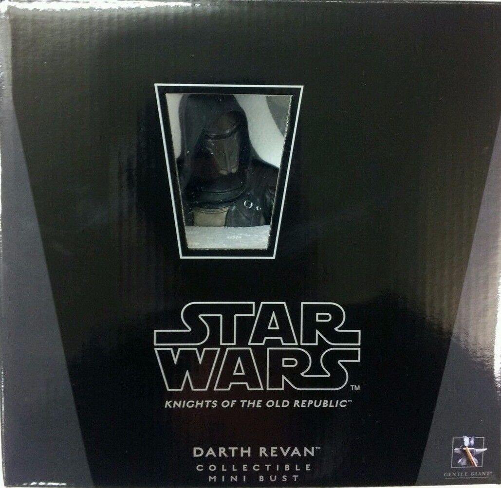 Star Wars Gentle Giant Mini Busto Darth Revan totalmente nuevo nunca abierto