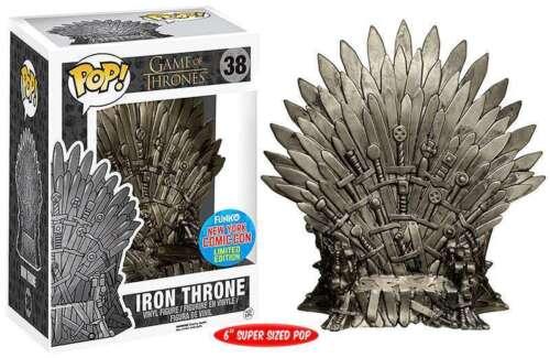 Iron Throne NYCC Comic Con Exclusive POP! Game of Thrones #38 Vinyl Figur Funko