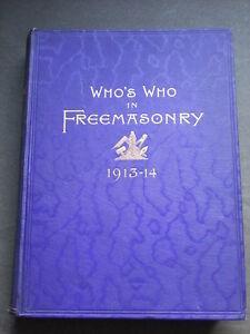 maçonnerie franc 1914 première 1913 est en Qui qui édition 4tqOOI