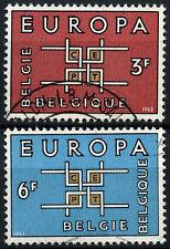Belgium 1963 SG#1862-3 Europa Used Set #D53209
