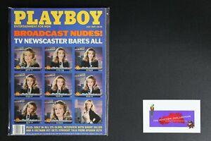 💎 PLAYBOY MAGAZINE: JUL 1989 TV NEWSCASTER BARES ALL SHELLY JAMISON 💎