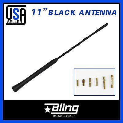 "13/"" Antenna Black AM//FM Power Aerial Signal Receiver For 1980-2016 Ford F150"